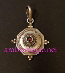 Jinn Talisman For Money - The magical pendant of the jinn Ashtakh for insuring needs and prosperity