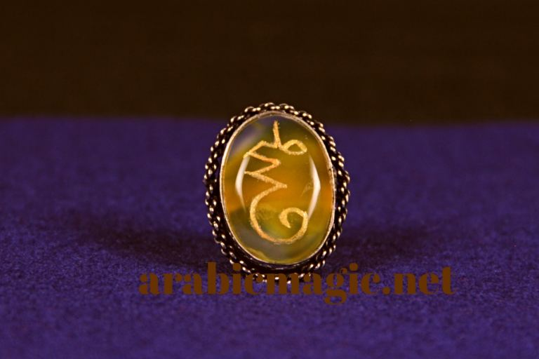 Magical ring for attracting love and affection