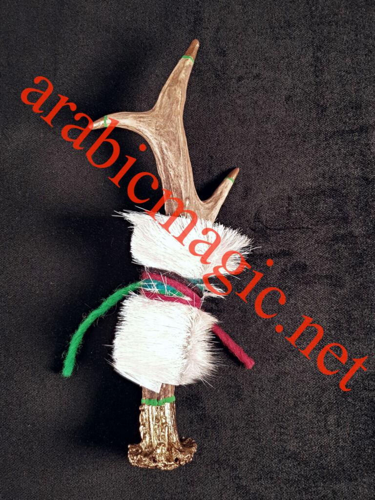 Arabic Jinn Horn Talisman for unlimited Luck, Success, Prosperity and Wealth